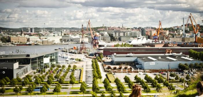 Mode-, konst- och teknikmarknad på Ringön