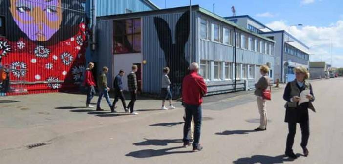 Var med och utforska och skapa ljud i och utanför Järnhallen på Ringön lördag 21 maj
