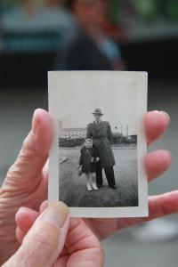 När Anita var 5 år 1950 såg det ut så här där Wieselgrensplatsen ligger i dag.