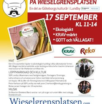 Kulturell gastronomi på Wieselgrensplatsen