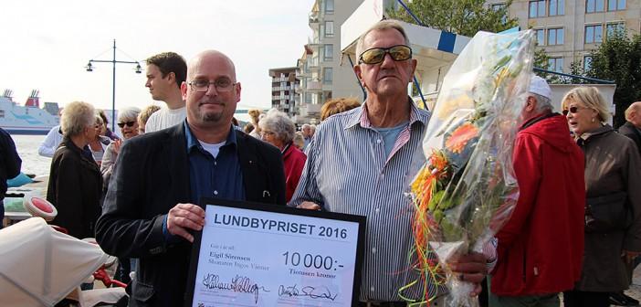 Eigil Sörensen – årets Lundbyprisvinnare