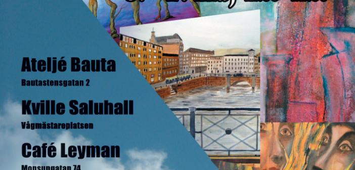 Konstrunda i Lundby med jazz och tilltugg