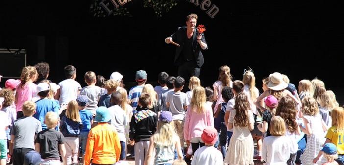 Stor underhållning på Flunsåsparkens familjekvällar i augusti