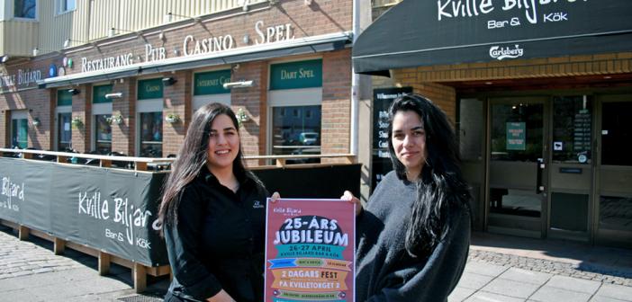 Familjeföretag som fyller 25  – nu blir det jubileum på Kville Biljard